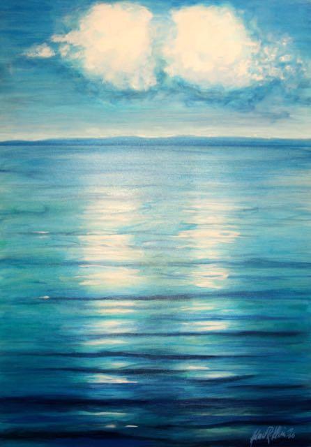 """2009 04 """"Wasser & Licht"""" Zwillingswolken"""